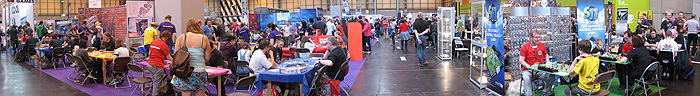 UK Games Expo trade hall