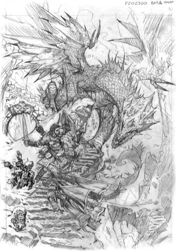 Playtest dragon