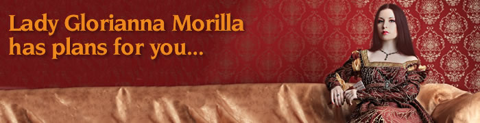 Lady Glorianna Morilla needs a little help