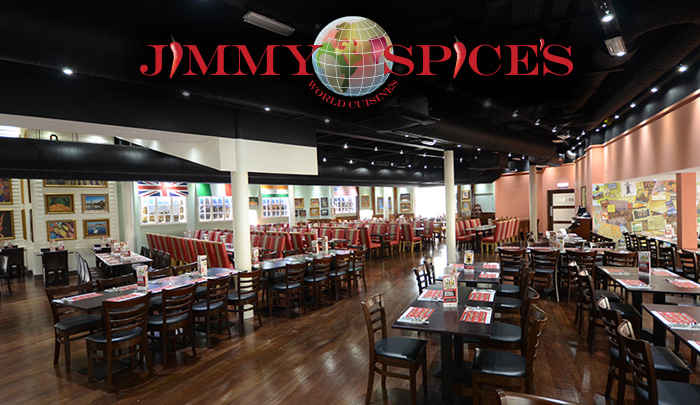 Jimmy Spices interior
